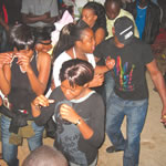 DANCE FOR LIFE . . . Revellers dance the night away at one of Harare's popular nightclubs.