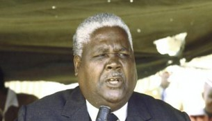 The late Vice President Cde Joshua Nkomo