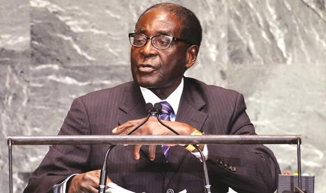 Excellency the President of the Republic of Zimbabwe, Cde Robert Gabriel Mugabe