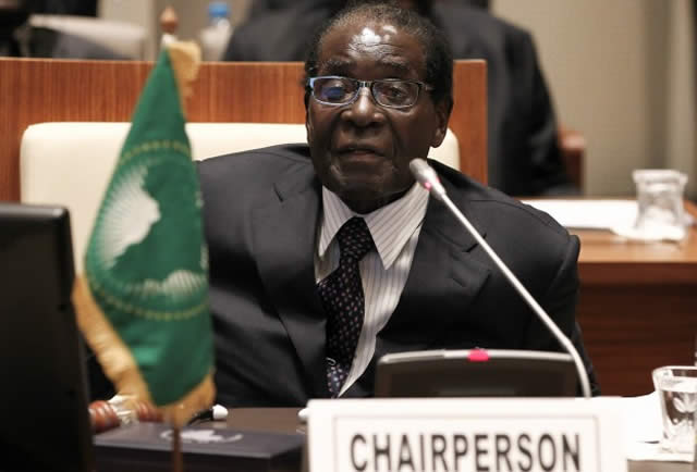 AU and Sadc chairman PRESIDENT Robert Mugabe