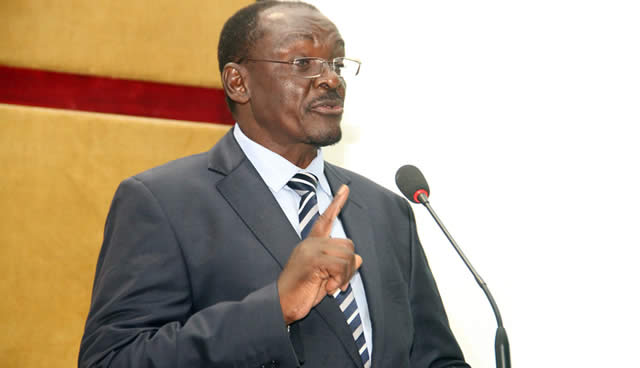 Minister of State Security Kembo Mohadi