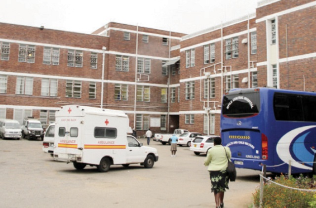 Mpilo hospital where the child is admitted