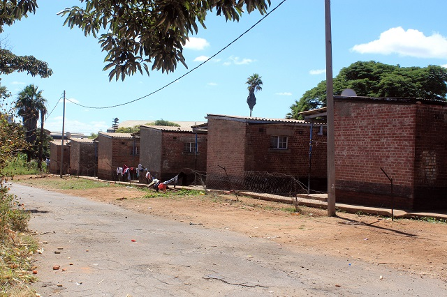 The RMS Transport Residential Quarters along Old Khami Road in Bulawayo