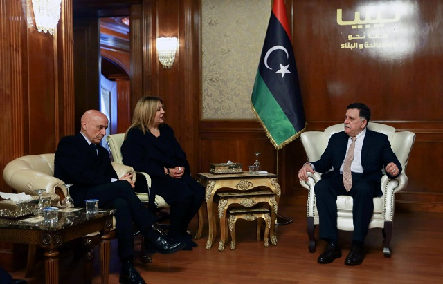 Libya, Italy to join forces
