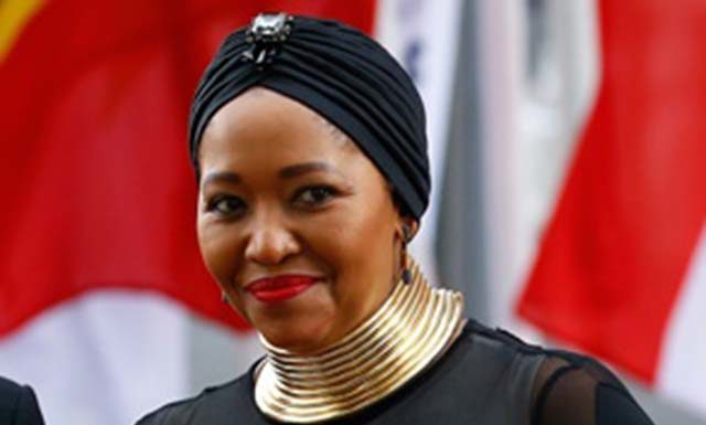 First lady Thobeka Madiba-Zuma