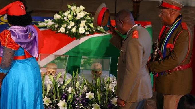 Tears as Germany returns Namibian human remains | The Chronicle
