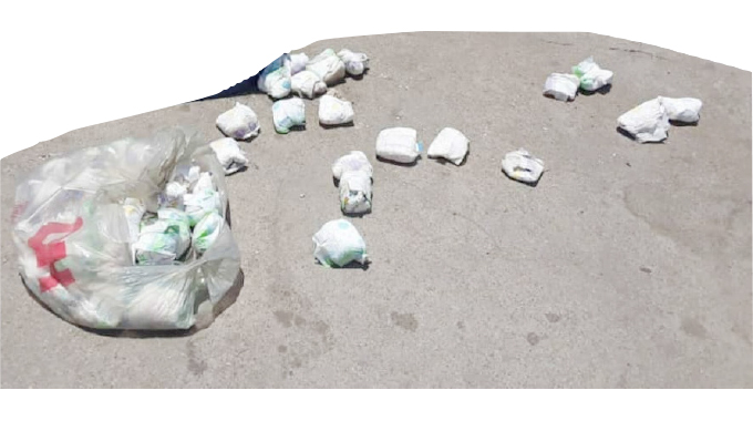 Getting high on diapers!…Ghetto youths take drug abuse to a new level